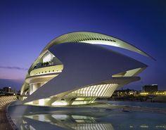 Newsmaker Santiago Calatrava   Valencia Opera House