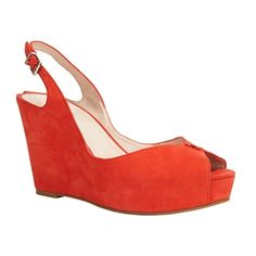 BCBGeneration Tashaa Open Toe Slingback Wedge
