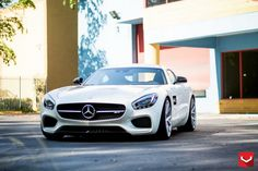 Mercedes-AMG GT S with Vossen Wheels- TuningCult.com