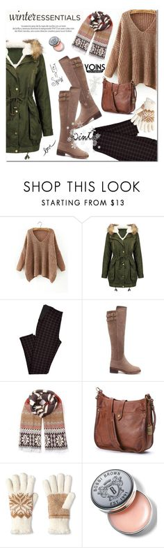 """""""Yoins"""" by aurora-australis ❤ liked on Polyvore featuring Frye, Isotoner, Louis Vuitton, Bobbi Brown Cosmetics, polyvoreeditorial and yoins"""