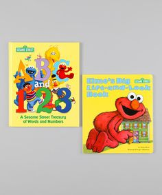 Take a look at this ABC & 123 Hardcover & Lift-and-Look Board Book Set on zulily today!