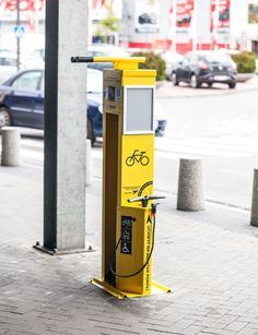 Bike Repair Station | Fahrrad Reparaturstation | Stacja Naprawy Rowerów | Station de réparation de vélo | stazione di riparazione per biciclette | estación de reparación de bicicletas