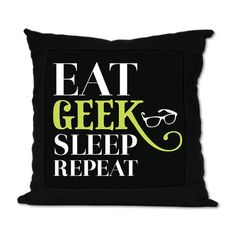 Geek Suede Pillow #cafepress..for my self proclaimed Geek Katie!!