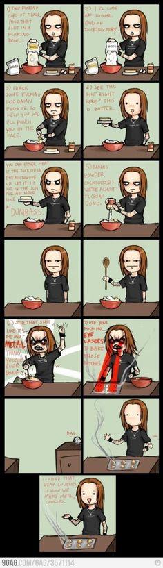 Extreme Metal Cookies