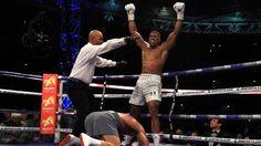 Boxen: Weltmeister Joshua schlägt Klitschk.o.