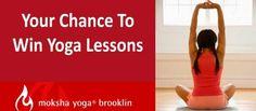 Oct/Nov 2013 Magazine Draw: Win Moksha Yoga Lessons