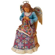 Quilting Angel, Jim Shore