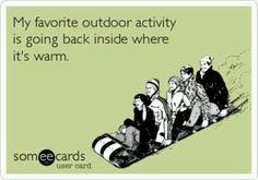 my favorite outdoor *winter* activity.. is it beach weather yet??
