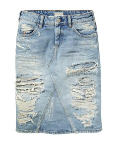 Falda denim - Rock 'n' Roll - Scotch & Soda