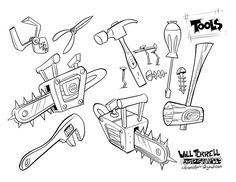 Prop-designs Tools by willterrell on DeviantArt