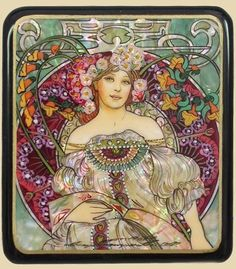 Art Nouveau poster.