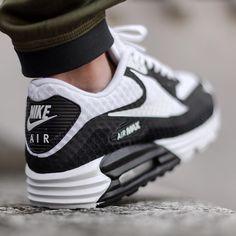 "Nike Air Max Lunar90 Breeze ""Black/White"" available @titoloshop"