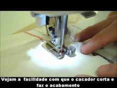 ▶ Demonstração Pé Calcador Overlock. - YouTube
