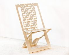 Wooden chair Upholstered chair furniture Wooden by TreeSky on Etsy