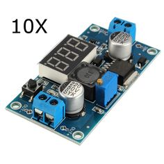 10Pcs LM2596 DC-DC Voltage Regulator Adjustable Step Down Power Supply Module With Display