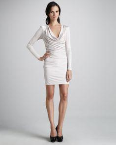 Black Halo Daphne Mini Dress, Size Small, Color Cream Paid $16.00, Retail $325.00