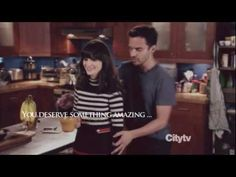 """Excellent New Girl video by AnnEithne. """"Nick and Jess - Get up... (2x15)"""""""