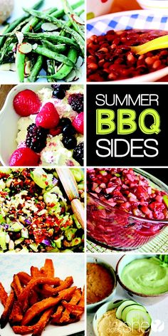 If you're like me, you can get a little tired of the typical BBQ sides... Find some new ideas:  The Best Backyard BBQ Recipes: Entrees, Sides, Desserts by HowDoesShe.com