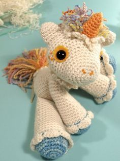 Unicorn Crochet Free Pattern