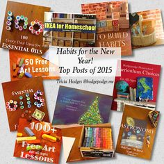 Habits for the New Year - Top Posts of 2015 at Hodgepodge