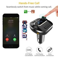 7 Best OkaeYa Bluetooth Car Kit MP3 Player, 5V/3 1A Dual USB Ports