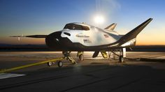 The Sierra Nevada Corporation (SNC) Dream Chaser flight vehicle is readied for 60 mph tow tests at NASA's Dryden Flight Research Center in Edwards, Calif., Aug. 2, 2013.  (REUTERS/NASA/Ken Ulbrich/Handout via Reuters)