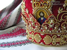 goldwork embroidery  by Blazhko's gold embroidery, via Flickr
