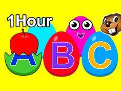 Surprise Eggs Collection 1 Hour | Plus Nursery Rhymes | Kids Kindergarte...