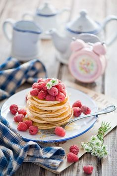 Food photography and styling : pancakes