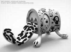 The Big Licker - Vinyl Art-Toy by Lunartik by Matt Jones aka Lunartik — Kickstarter