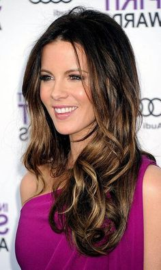 Image detail for -Kate Beckinsale's Ombre Highlights « VIP Hairstyles