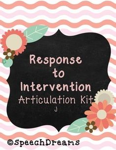 Response to Intervention Articulation Assessment sh ch th f v k g Articulation Therapy, Articulation Activities, Speech Therapy Activities, Language Activities, Speech Pathology, Speech Language Pathology, Speech And Language, Response To Intervention, No Response