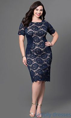 Shop Simply Dresses for homecoming party dresses, 2015 prom dresses, evening… Plus Size Formal Dresses, Trendy Dresses, Short Dresses, Fashion Dresses, 50 Fashion, Fashion Styles, Trendy Fashion, Plus Size Evening Gown, Evening Dresses