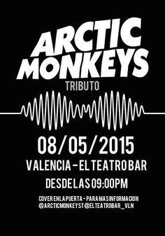 Cresta Metálica Producciones » Tributo a Arctic Monkeys en El Teatro Bar Valencia