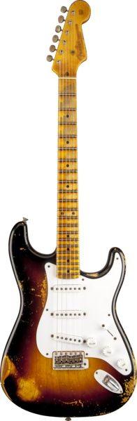Fender 60th Anniversary 1954 Heavy Relic® Stratocaster®