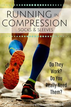 Running in compression socks: do they work? Do you really need them? #Running #Run #runners #Marathon #TrailRunning