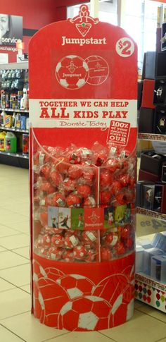 Display Design - Canadian Tire - Jump Start - Product Bin   Middleton Group Inc. Visual Display, Display Design, Canadian Tire, All Kids, Together We Can, Kids Playing, Group, Create, Children Play