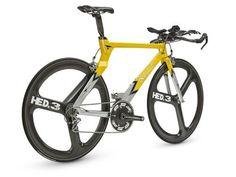 Kestrel Triathlon Bike with HED Wheels http://todlock.wordpress.com