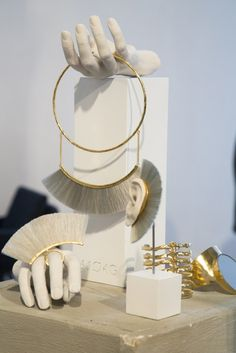 Bjorg Jewelry Window Display