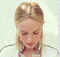 How to get Kate Bosworth's braided headpiece at Coachella: