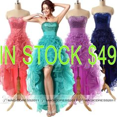 Cheap Coral Prom Dresses Sparkly Purple Navy Peacock Formal Evening Gowns 100% REAL IMAGE 2015 Occasion Dress A-Line Sweetheart Party Gowns Online with $40.64/Piece on Magicdress2011's Store | DHgate.com