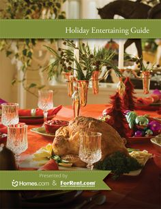 Holiday Entertaining Guide with decor and recipe ideas. #HomeChat
