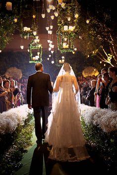Para Falar de Casamento: Velas para decoração de casamento