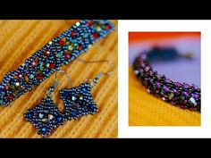 Новый элемент для бижутерии - YouTube Bead Weaving, Beaded Earrings, Friendship Bracelets, Beads, Diy, Youtube, Jewelry, Beadwork, Jewelery