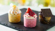 Gourmet Cupcakes, Part of the Menu at Be Our Guest Restaurant in New Fantasyland at Magic Kingdom Park