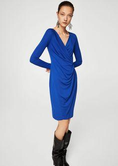 Knotted dress - Woman | MANGO United Kingdom
