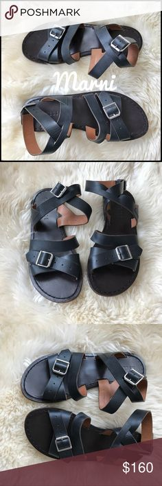 Marni Gladiator Sandals - 36 Gorgeous. Simple. Comfortable. Excellent condition. Marni Shoes Sandals