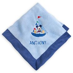 MICKEY MOUSE Plush Blanket – Personalizable