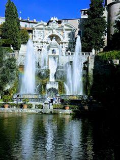 Imieiscatti, mio breve tour - villa D'ESTE, Tivoli ~ Roma