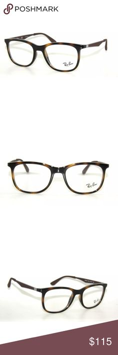 c617ccebaa55 Ray-Ban 7078 Tortoise and Gunmetal Glasses Frame Excellent condition